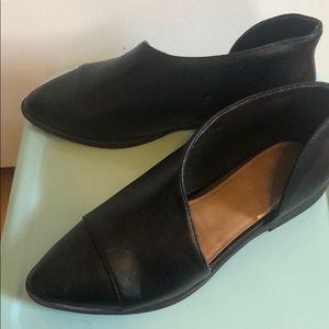 Never worn black flats